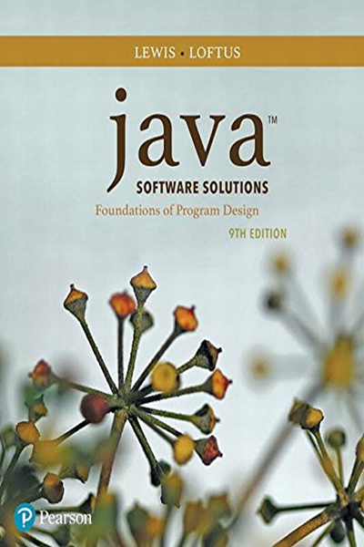 Java Software Solutions By John Lewis Pearson Ebook Pdf Solutions Ebook