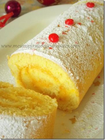 recette Génoise pour biscuit roulé / bûche | Le Blog cuisine de Samar