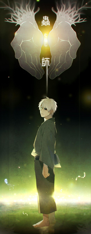 蟲師 もどっても シロタカのイラスト Anime, Manga anime, Anime wallpaper