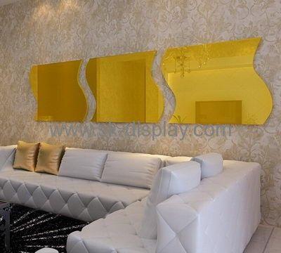 Wholesale acrylic acrylic wall sticker 3d mirror wall mirror ikea ...