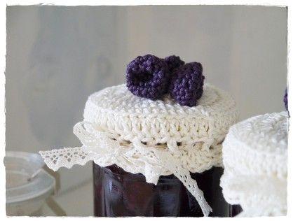 Crochet bottle toppers!