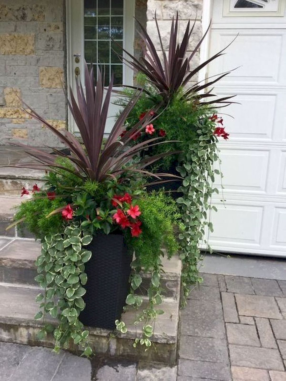 24 Beautiful Planter Ideas for Your Front Porch  Container
