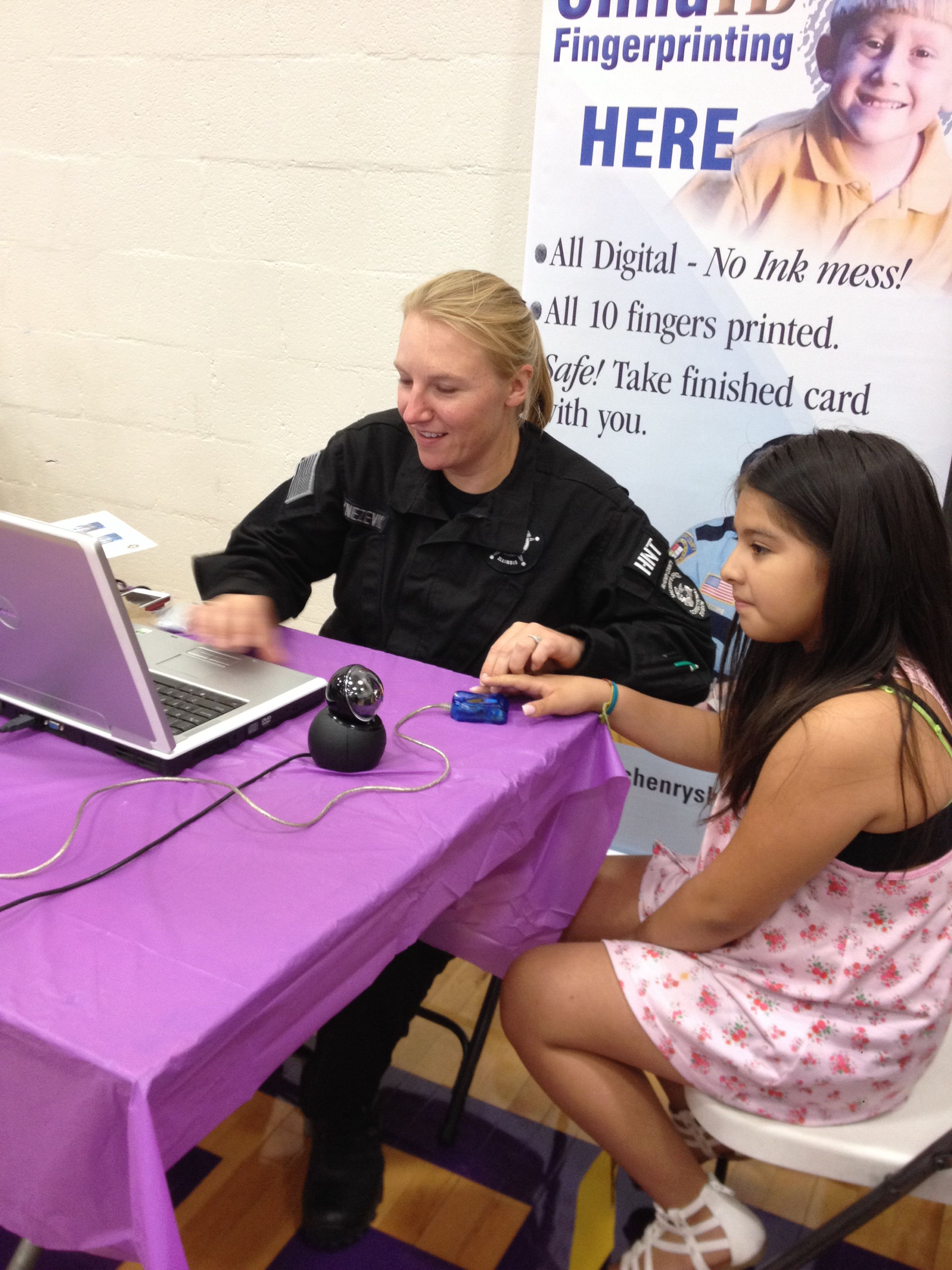 At mchenry county childrens health safety fair