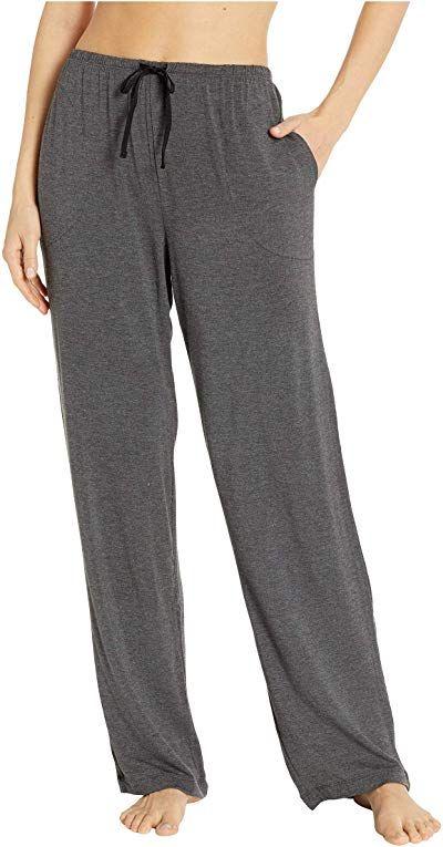 Donna Karan Womens Modal Spandex Jersey Long Pants