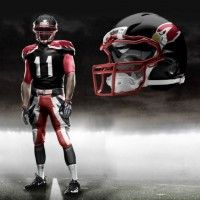 Arizona Cardinals helmet, uniform concept design | The Penalty Flag