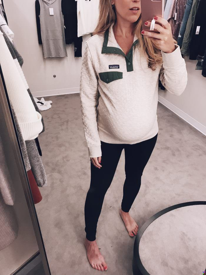 bd08506cd4d32 Top 5 Picks from the Nordstrom Anniversary Sale // Fall Maternity Style  with booties, denim, and more!