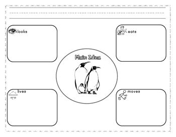 Penguins Reading, Science, and Math Unit 20 pages