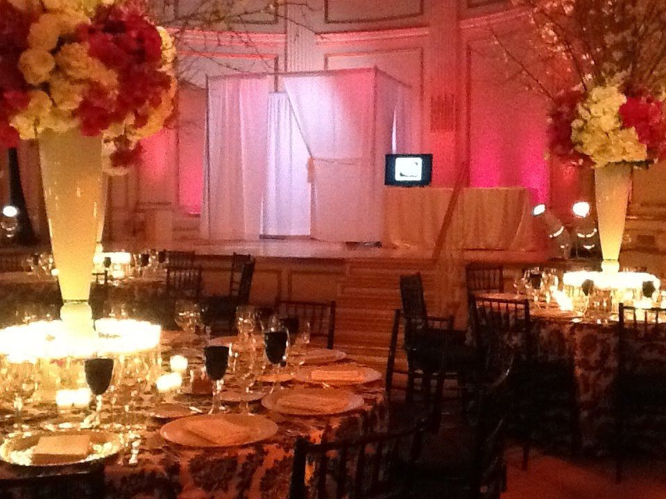 The PhotoBooth Lounge at The Plaza Hotel, Grand Ballroom
