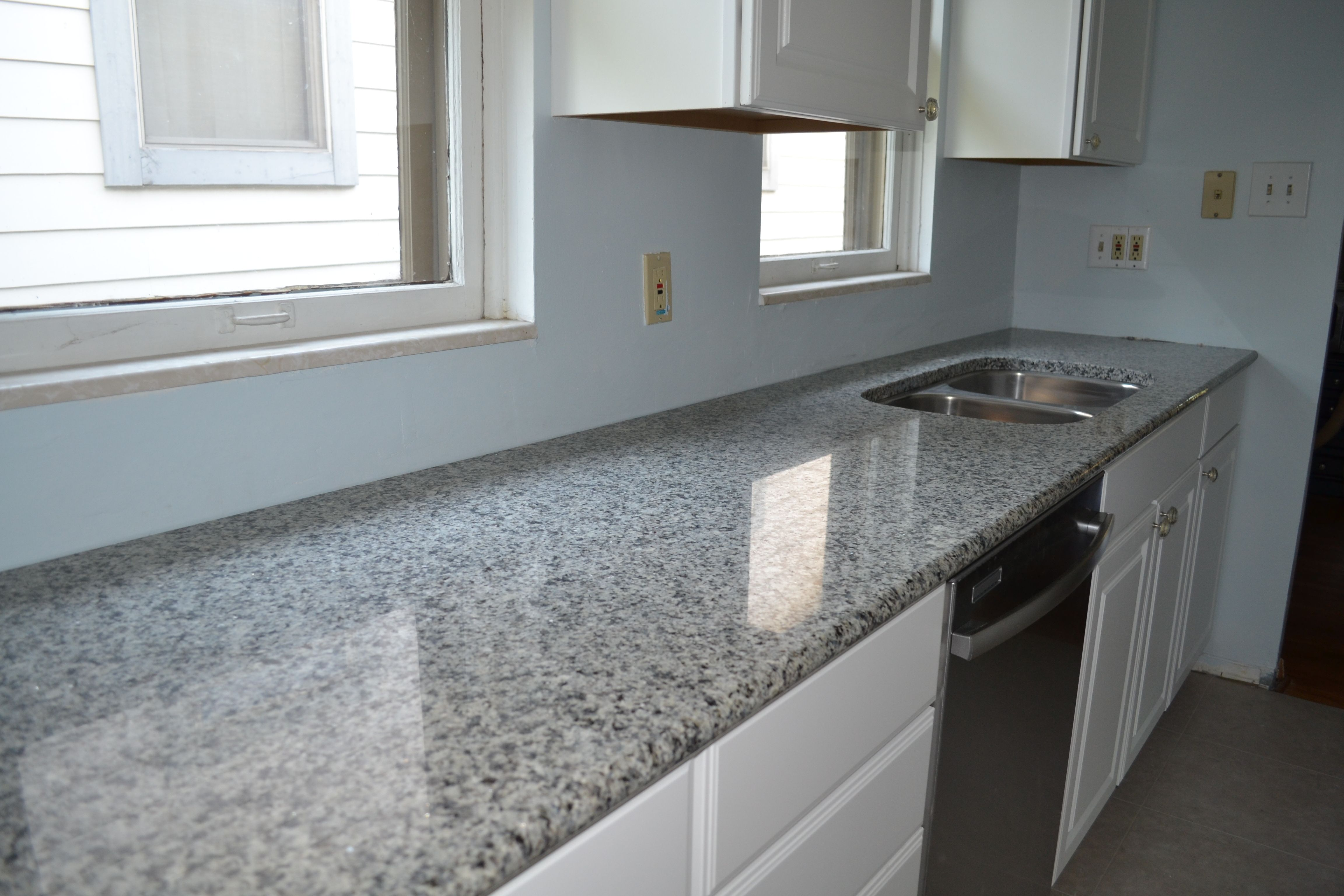See The Gleam On That Granite Hialeah Azul Platino