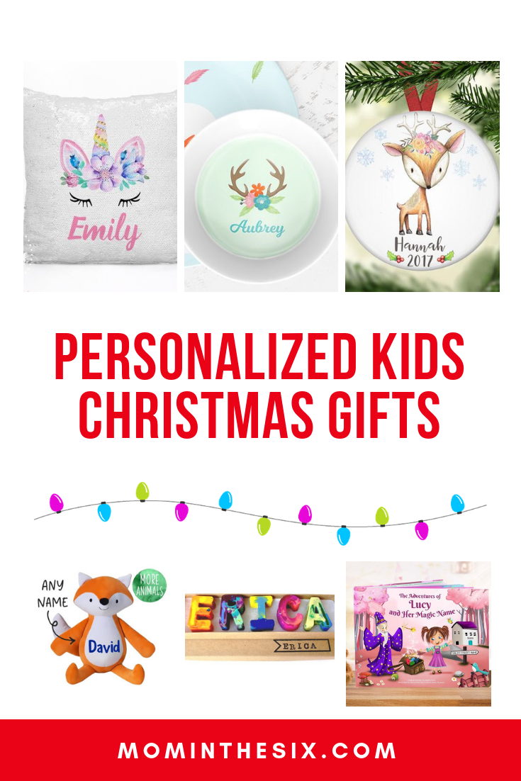 8 Awesome Personalized Gifts for Kids - Christmas Gift Guide | Mom ...
