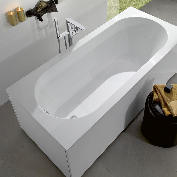 Villeroy \ Boch Oberon Badewanne star white Badezimmer - badezimmer villeroy und boch