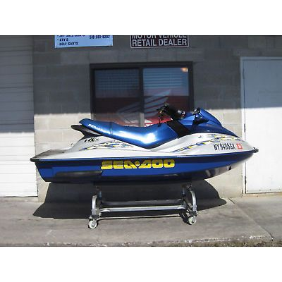 2002 SEA DOO RX DI 951 67HRS CHEAP SHIPPING SEADOO PWC JET SKI WAVE