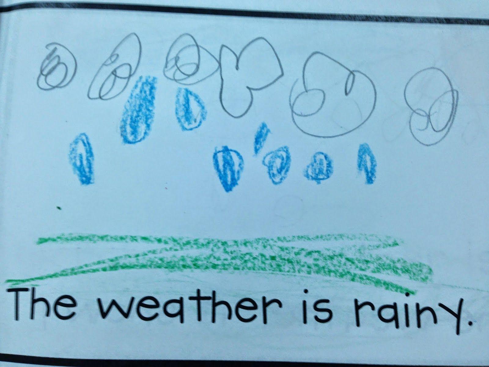 Rainy Windy Cloudy Sunny Book