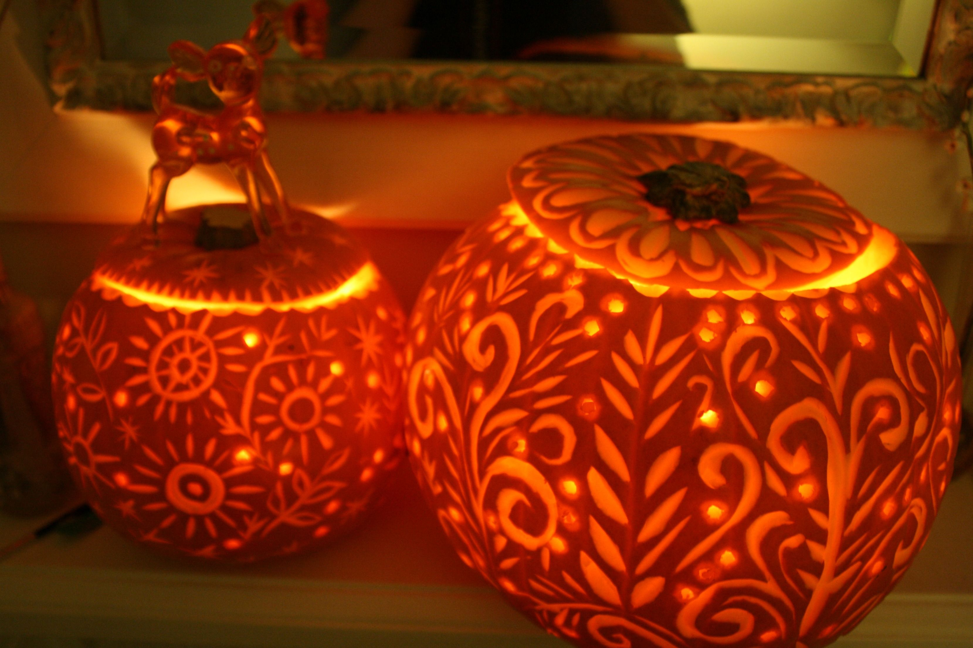 carved pumpkins by amyswanncakes.co.uk Pumpkin carving