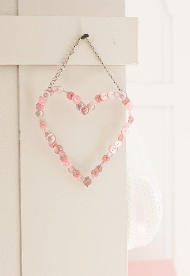 DIY Button Heart Keepsake | Pinterest | Draht, Dünn und Kreative ...