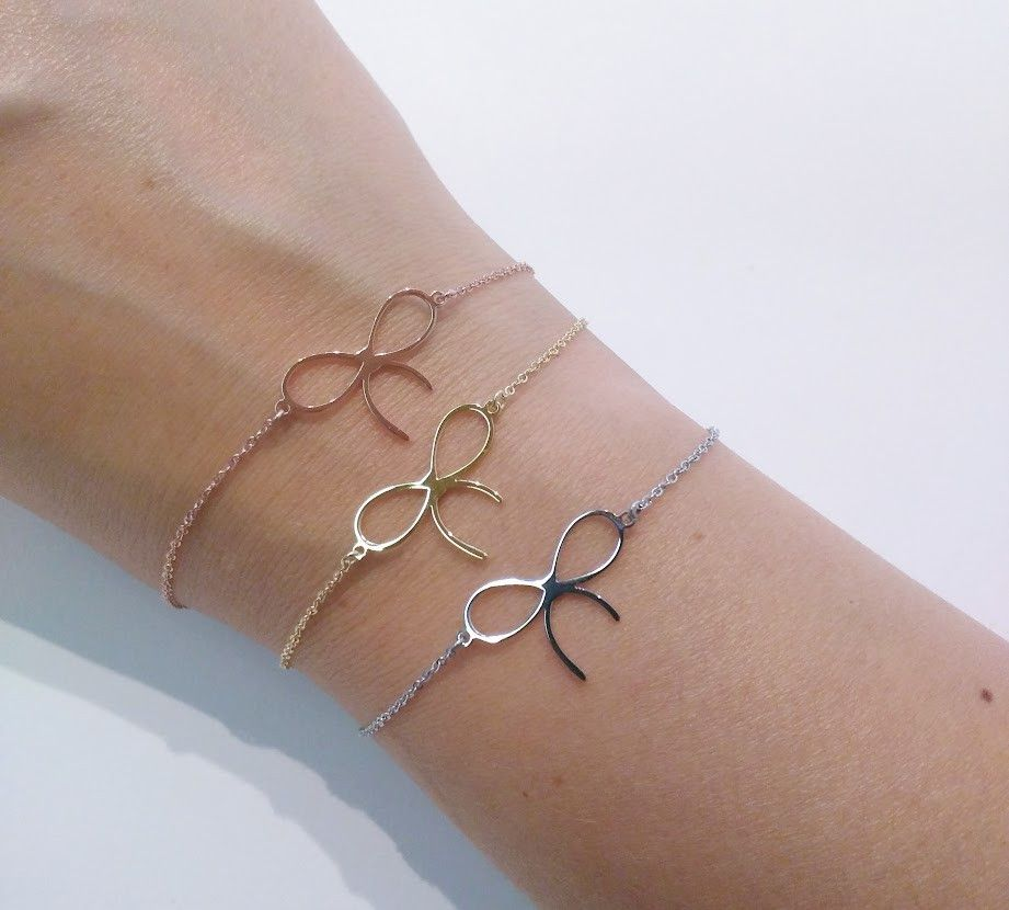 Zag Bijoux Armband Petit Bow Gold Silver Rosegold Luxedy