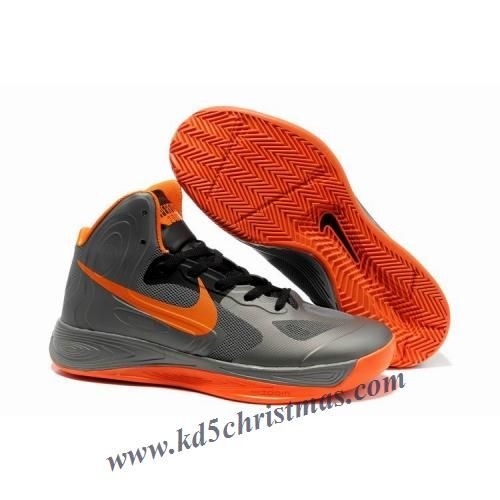 lowest price eeb39 6a3b6 Nike Zoom Hyperfuse Low Jeremy Lin Shoes Grey Orange