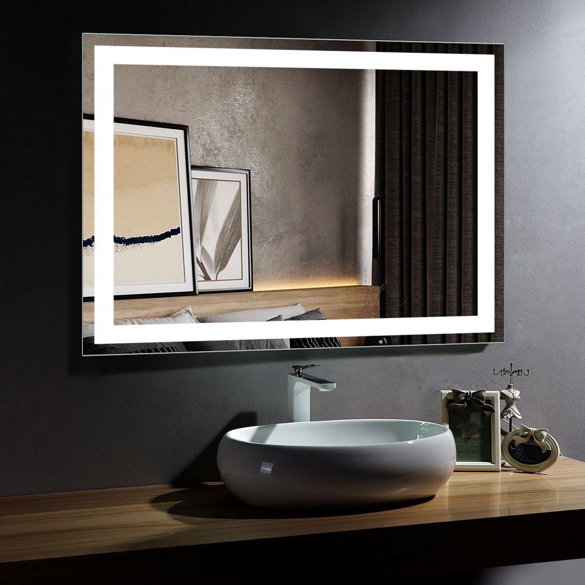 Lovely Lighted Bathroom Wall Mirror Led Mirror Bathroom Led Mirror Bathroom Mirror