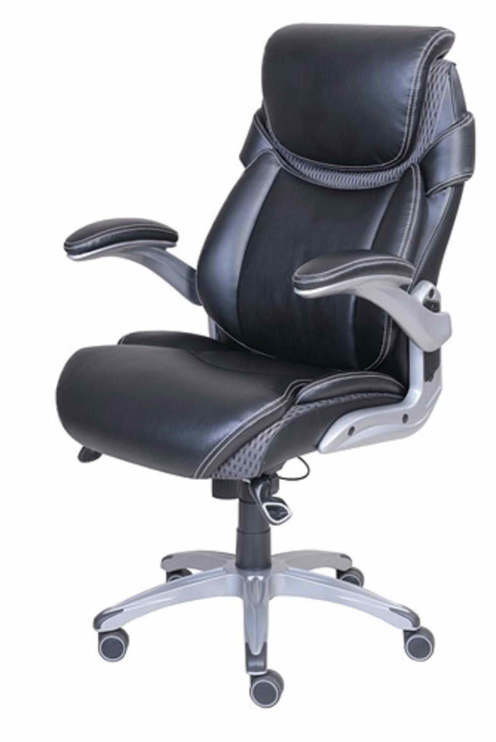 Groovy Dormeo True Innovations Octaspring Bonded Leather Manager Machost Co Dining Chair Design Ideas Machostcouk