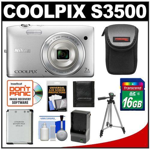 Nikon Coolpix S3500 Digital Camera S