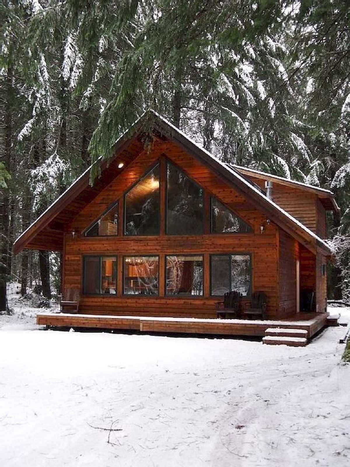 75 Best Log Cabin Homes Plans Design Ideas In 2020 With Images Small Log Cabin Cabin Plans With Loft Cabin Homes