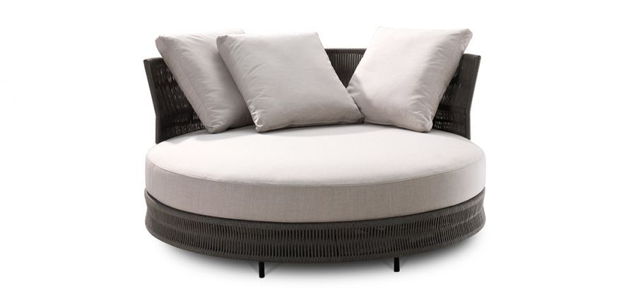 delta outdoor circle sofa  outdoor furniture  king