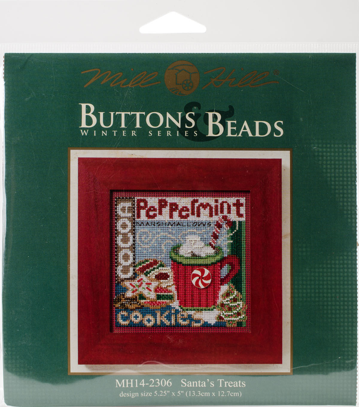 MILL HILL Buttons Beads Kit Counted Cross Stitch SANTA/'S TREATS MH14-2306