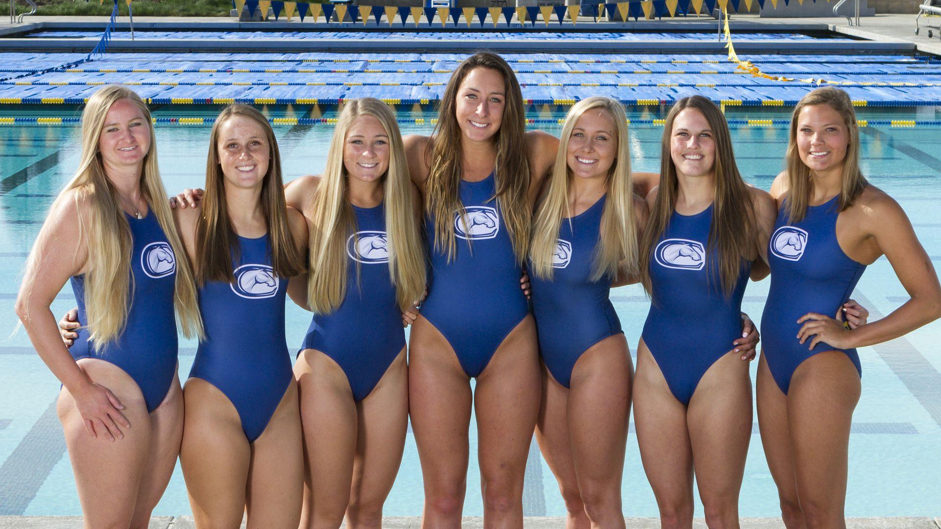 048d05585c8 UCDA WPolo Senior Day, Women's Water Polo, Swim Team, Otters, Swimsuits,