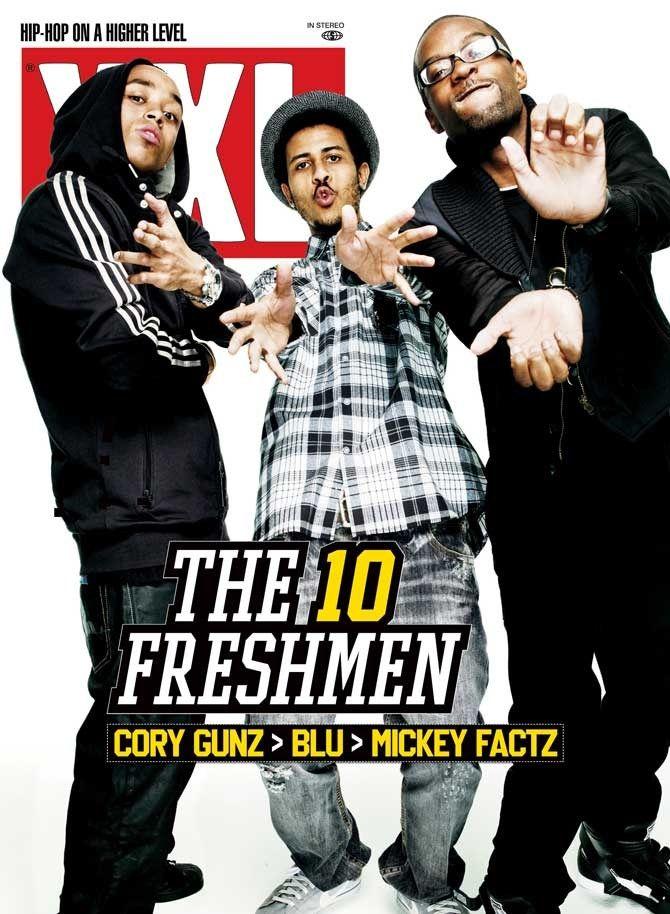 XXL Freshman Class of 2009 Cory Gunz, Blu and Mickey Factz Long