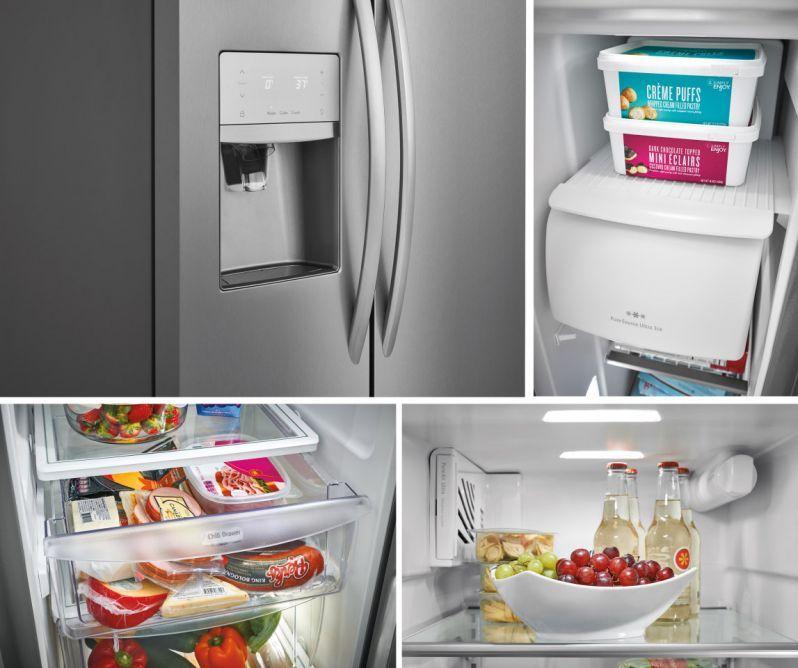 Frigidaire Gallery 22 2 Cu Ft Refrigerator Fgss2335tf Frigidaire Gallery Refrigerator Kitchen Appliances