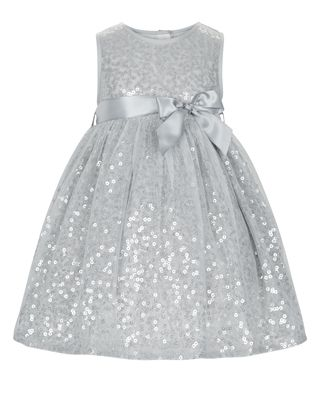 4ceba35d7 Our dazzling Evalina tulle party dress for baby girls is decorated ...