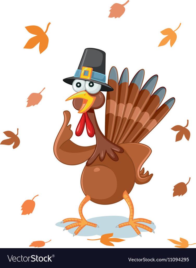 Funny And Cute Thanksgiving Turkey Images Turkey Cartoon Turkey Clip Art