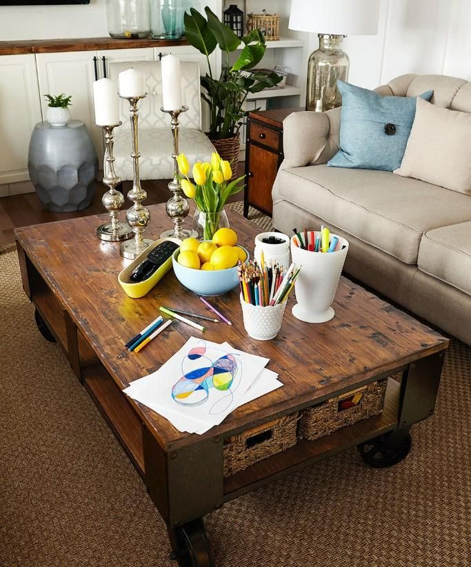 family room decorating ideas tips and tricks | Tips and Tricks: Kid-Friendly Living Room Ideas in 2019 ...