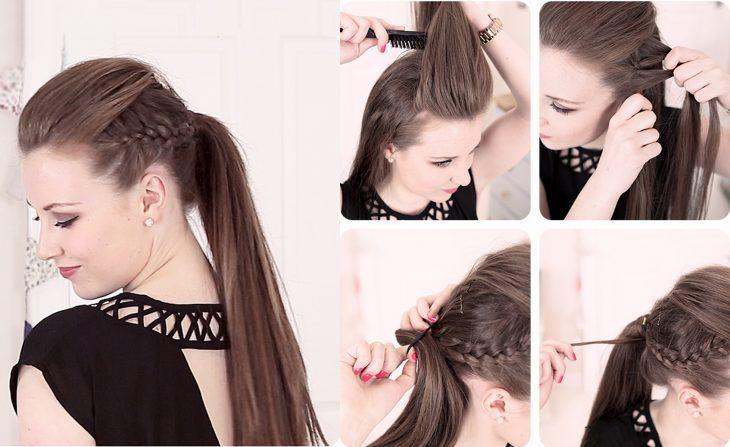 Peinados Para Fiesta Cabello Largo Faciles