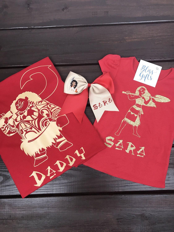 1a8aa3e9 Moana Character Inspired Family Shirts Maui | Disney Shirts, Disney ...