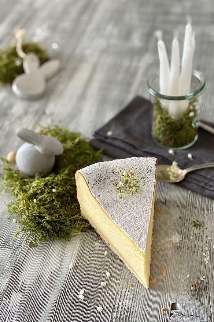 Einfacher Zitronen-Mascarpone-Käsekuchen - Lissi's Passion