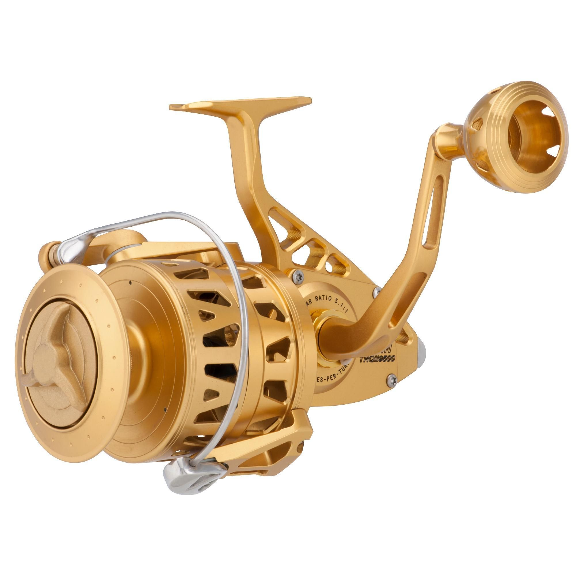 Torque II Spinning Reel - 9500, 5 1:1 Gear Ratio, 50