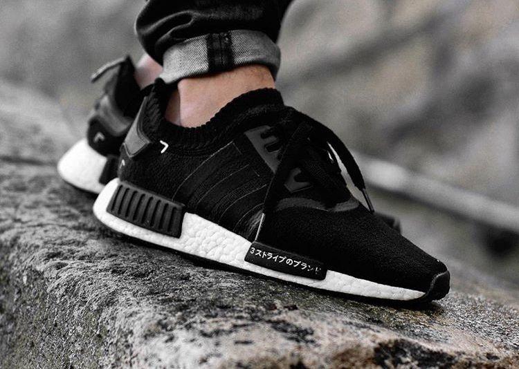 adidas nmd r1 primeknit black japan remialvo in 2020