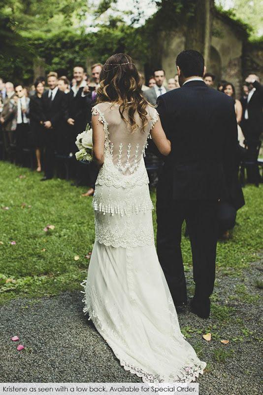 ▻ Vestido de novia por Claire Pettibone. #vestidosdenovia ...