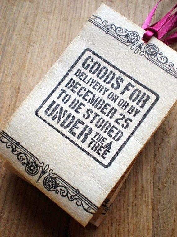 Christmas Gift bag. Love it!