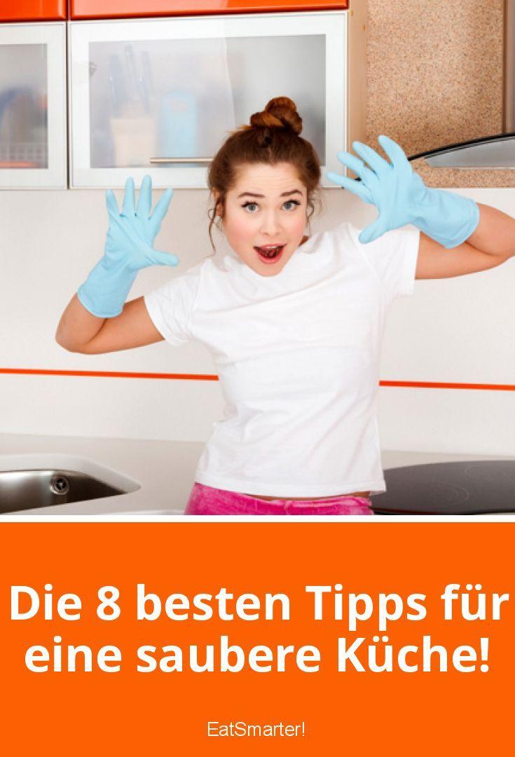 Die 8 besten Tipps für eine saubere Küche! | Die küche, Glänzend und ...