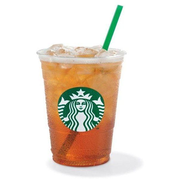 Iced Shaken Tea Liked On Polyvore Featuring Food Drinks Food And Drink Starbucks Accessories And Fill Starbucks Tea Caramel Macchiato Starbucks Lemon Tea