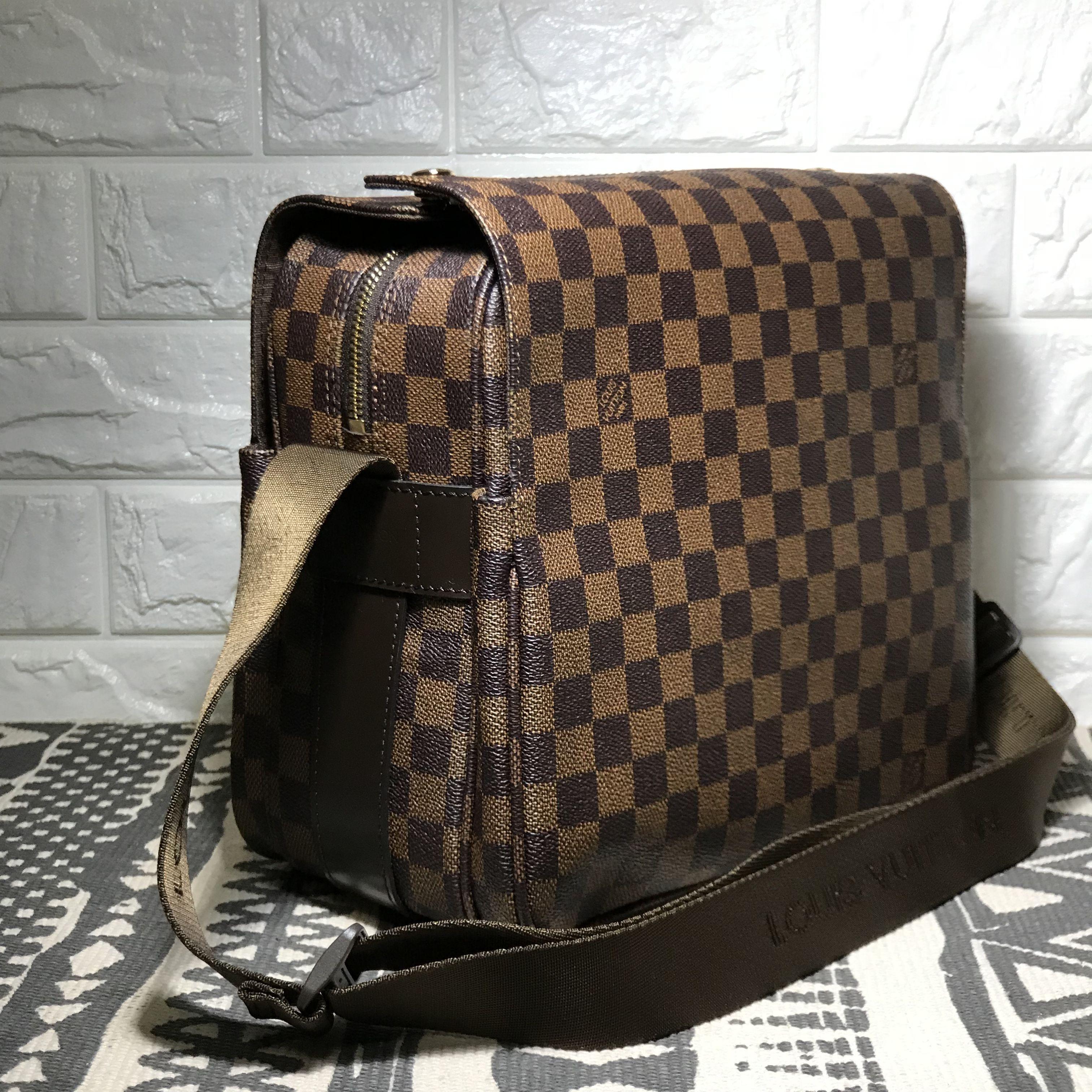 b1ab2d8c7367 Louis Vuitton lv man messenger bag Damier ebene