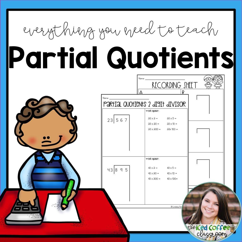 small resolution of Partial Quotients Division   Partial quotients