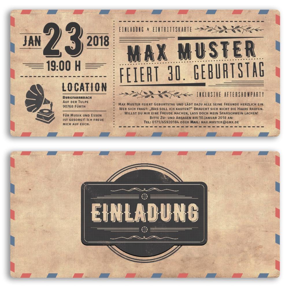 einladungskarten vintage einladungskarten gestalten retro