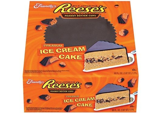 reese s ice cream cake friendly s reese s cake serves 12 15 two 7050