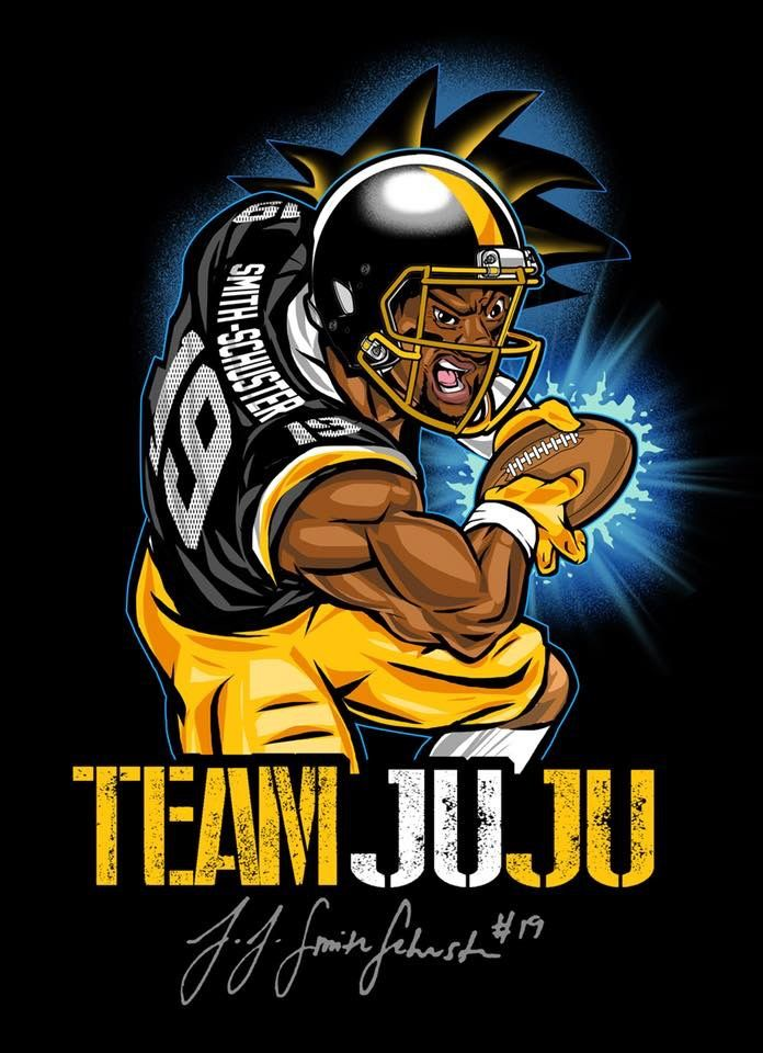 JUJU SMITH SMITH SCHUSTER | Steeler Nation | Steelers gear  free shipping