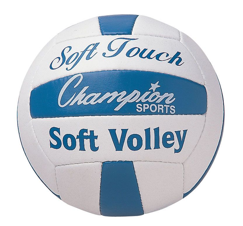 Soft Touch Rubber Volleyball Champion Sports Sports Volleyball
