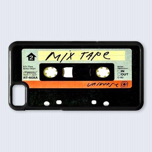retro cassette mix tape design for blackberry Z10 case cover  $16.89 #etsy #Accessories #Case #cover #CellPhone #BlackBerryZ10 #BlackBerryZ10case #BlackBerry #cassette #cassettetape #clearcassette #retrocassette #vintage #music #recording #mixtape