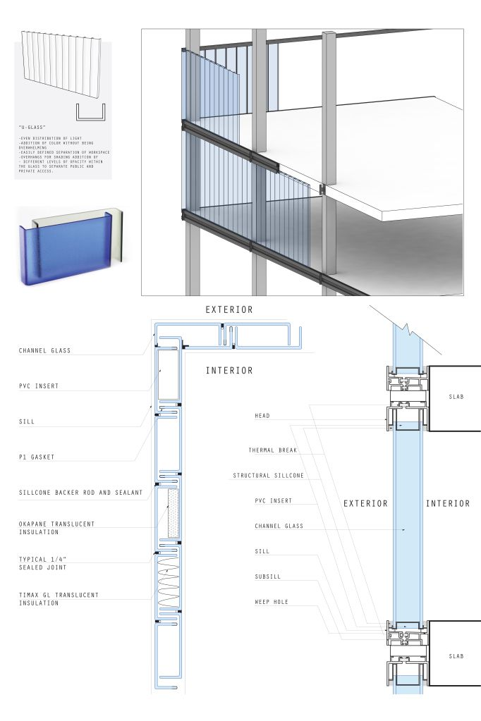 U glass plan p2 drawings construction details for Plans d arkitek